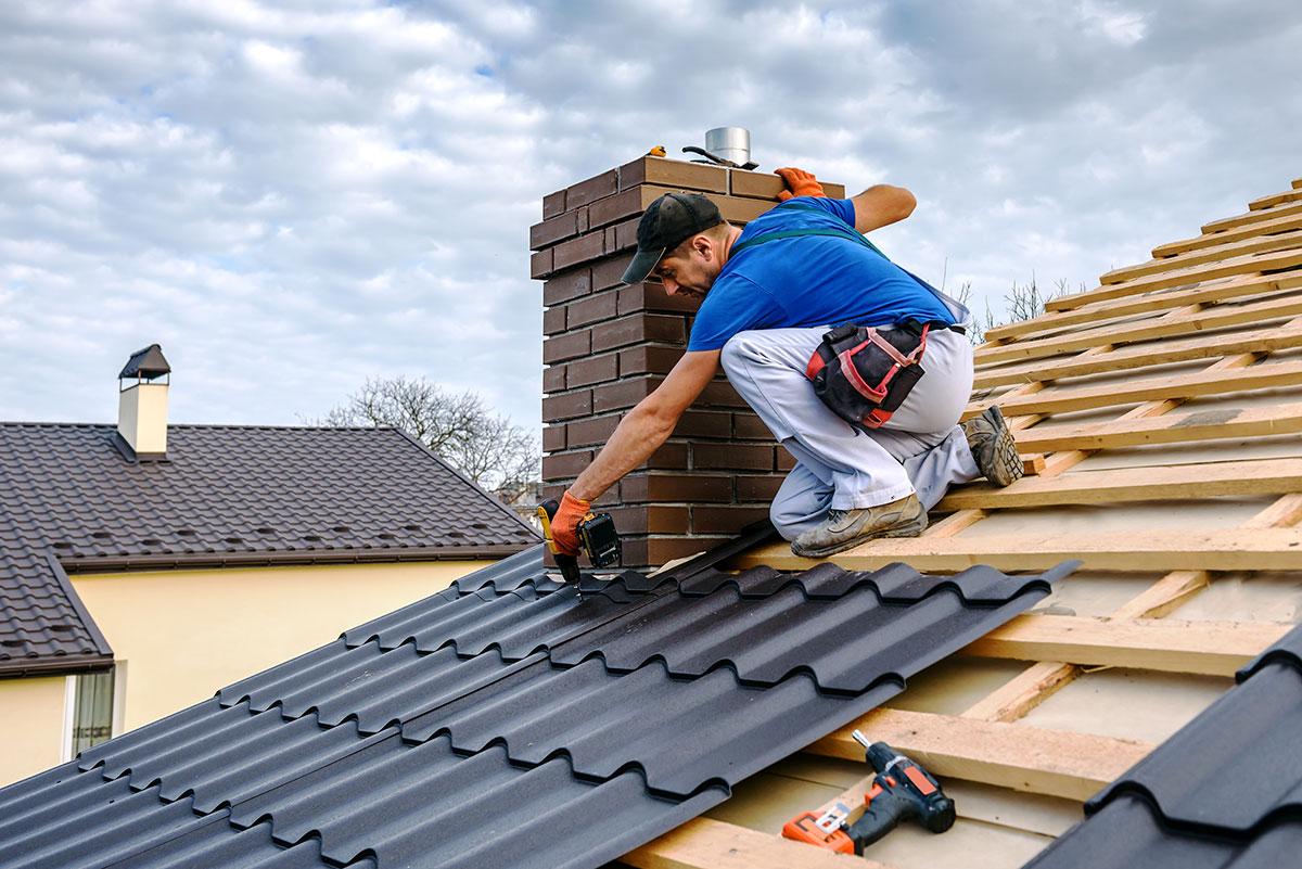 Montaż dachu - usługi dekarskie